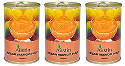 Austin Sterilized Mango Pulp, 450 g x 4 pack