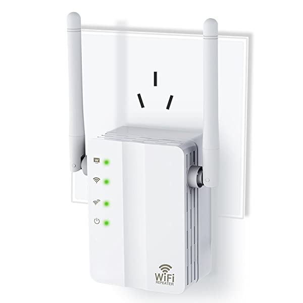 FAST-KING Wireless-n Router Mini 300M Wifi Extender 2.4G Wifi Repeater WiFi Signal Booster Ap with Ethernet Port and WPS Button