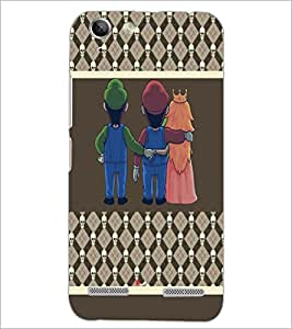 PrintDhaba Betrayed Love D-4804 Back Case Cover for LENOVO VIBE K5 (Multi-Coloured)