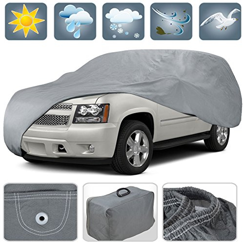 Motor Trend Outdoor Cover for CHEVROLET Tahoe, All Weather Water Proof