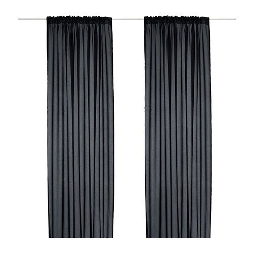 produkte ikea gardinen set vivan 2. Black Bedroom Furniture Sets. Home Design Ideas