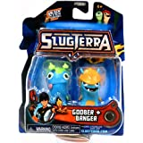 Slugterra Mini Figure 2-Pack Goober & Banger [Includes Code for Exclusive Game Items] by Slugterra Toys, Games & Dart Mini Action Figures
