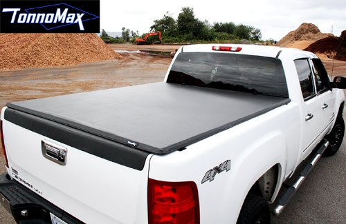 TonnoMax TC-MTF12 5.4' Soft Tri-Fold Tonneau Cover for Dodge Dakota Quad Cab (2000 Dodge Dakota Quad Cab compare prices)