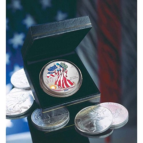 2000 Colourized American Silver Eagle