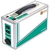 クマザキエイム SOLPA 「コンセントから充電するコンパクトな充電池」 家庭用ポータブル蓄電池 【elemake】 ホワイトシルバー SL-200