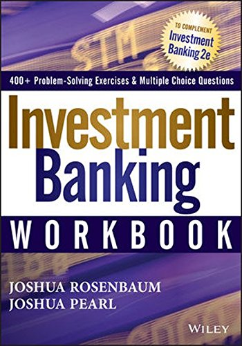 Investment Banking Workbook (Wiley Finance)