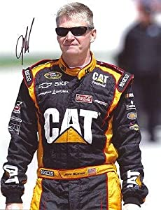 Jeff Burton Signed Photo - 11X14 COA - Autographed NASCAR Photos by Sports Memorabilia