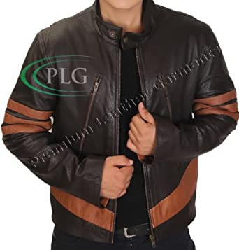 """X Men Wolverine Logans XO Premium Grade Real Leather Jacket - ALL SIZES (2XL - Suitable For Chest Size 44"""")"""