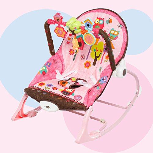 Baby-Mehrzweck-Baby-Kinder-besnftigen-Schwingungen-Schaukelstuhl-liege-Schaukel-Schaukel-Sitz-Spielzeug