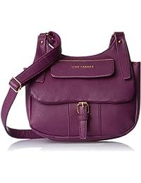 Lino Perros Women's Sling Bag (Purple)