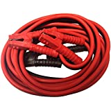 Professional Booster Cable 1 Gauge 25 ft 800 AMP - Heavy Duty Clamps - Tangle-Free Jumper Cables - Industrial Strength
