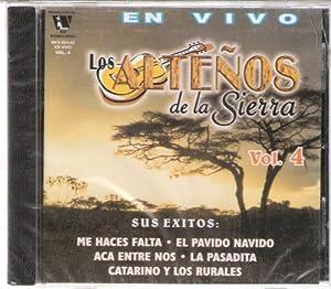 """Los Altenos De La Sierra """"En Vivo"""" Vol 4"""