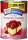Comstock Original Pie Filling & Topping, Country Cherry, 21 oz