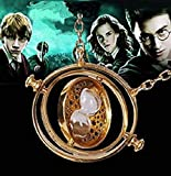 Z-Tout Movie Series Jewelry Harry Potter Inspired Replica Necklace Hermione Rotating