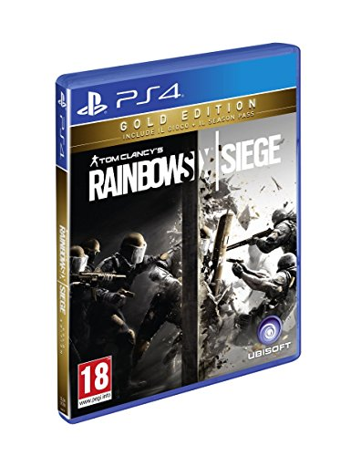 Rainbow Six Siege - Gold Edition [Gioco + Season Pass] - PlayStation 4