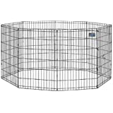 Midwest Exercise Pen, 42-Inch, Black