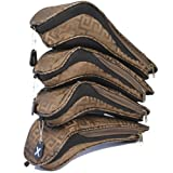 MODA Ladies Golf Head Cover Set - Mika (Brown)
