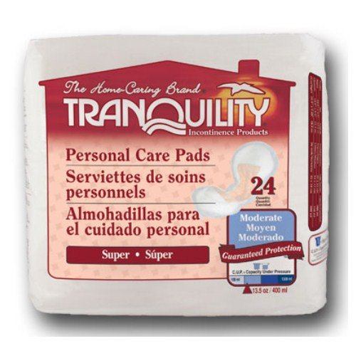 Tranquility 2380 Tranquility Super Personal Care Pad 24/pack