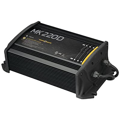 Minn Kota MK220D On-Board Battery Charger (2 Banks, 10 Amps Per Bank)