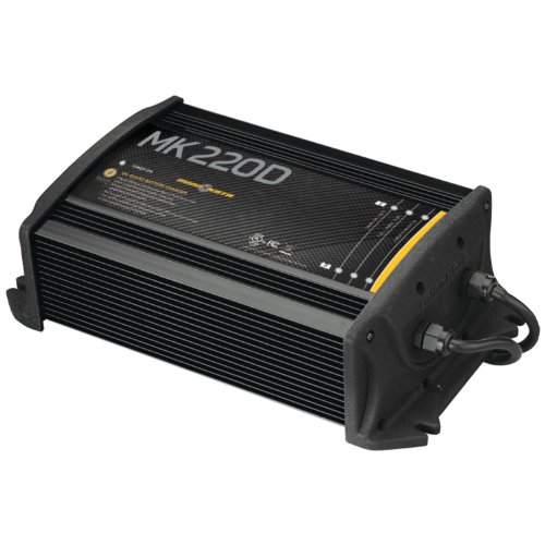MinnKota MK 220D On-Board Battery Charger (2 Banks, 10 Amps Per Bank) primary