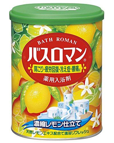 アース製薬 バスロマン 濃縮レモン仕立て 850g