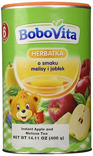 Bobovita Instant Apple & Melissa Refreshing Tea for Babies, 400g/14.11 oz - 1