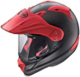 アライ(ARAI) バイクヘルメット オフロード TOUR CROSS3 フラットブラック レッド 61-62 XL 2261314