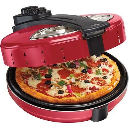 Hamilton Beach Enclosed Pizza Oven, Red (Commercial Conveyor Pizza Oven compare prices)