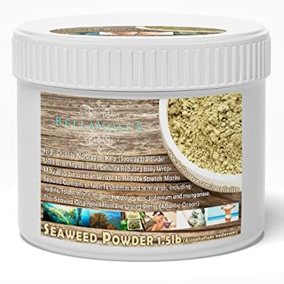 Seaweed Powder for Organic Body Wrap Cellulite Treatment