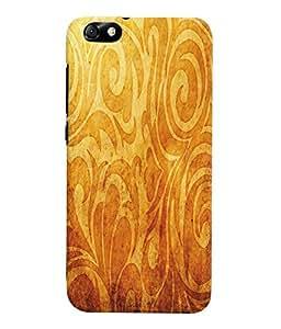 Fuson 3D Printed Pattern Designer Back Case Cover for Huawei Honor 4X - D972