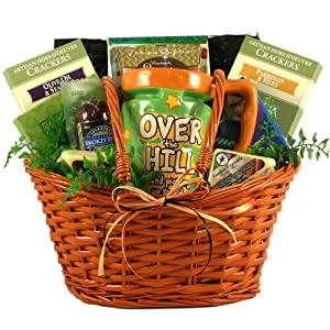 Over the Hill Senior Gift Basket | Birthday Gift Basket