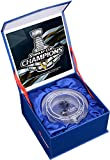 Pittsburgh Penguins 2016 Stanley Cup Champions Crystal Puck - Filled With Ice From the 2016 Stanley Cup Finals - Fanatics Authentic Certified