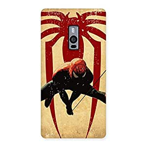 Cute Hanging Web Multicolor Back Case Cover for OnePlus Two