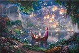 24x36 Thomas Kinkade Disney Art Print on Cotton Canvas - Tangled