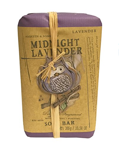 [Midnight Lavender Moisturizing Soap Bar with Halloween Owl] (Soda Mini Costumes)