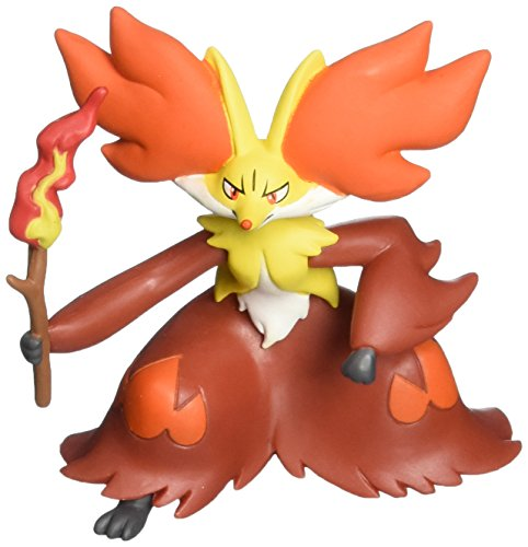 "Takaratomy Official Pokemon X and Y SP 08 2.5"" Delphox Action Figure"