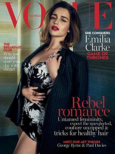 Vogue Australia Magazine (May, 2016) Emilia Clarke