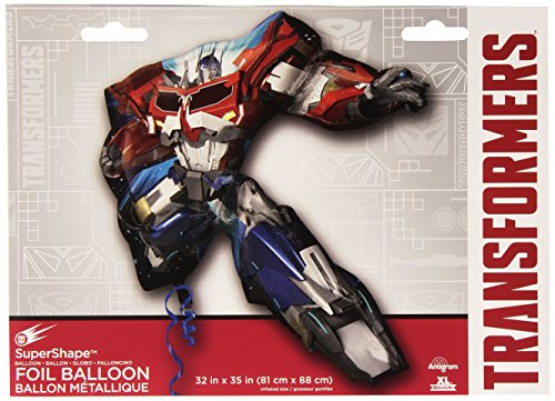 Transformers Prime Happy Birthday Party Decorating Kit