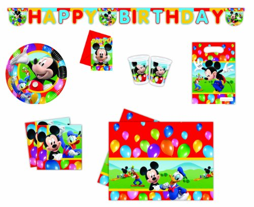 DISNEY - 9243A - Day Kit - Kit Mickey Party Time - Grö�e Xl