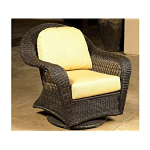 Round Wicker Chair With Cushion Chair Pads Amp Cushions