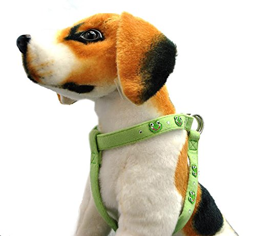 TOP PAW-Dog harness (XS) Green Frog-14