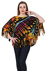 Mojeska Womens Viscose Long Sleeve Top (Ty023 _Multicoloured _One Size Fits All)