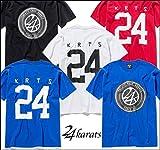 (トゥエンティーフォーカラッツ) 24karats 正規品 LOGO NO TEE Tシャツ XL WHITE