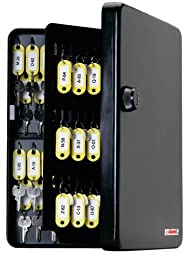 KeyGuard SL-9122 Combination Key Cabinet with Black 3-Dial Combi-Cam - 122 Hook