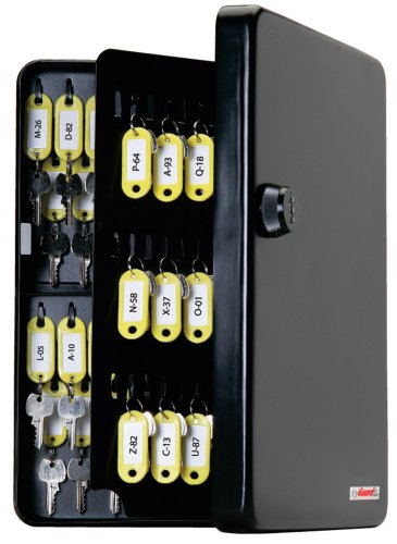 KeyGuard SL-9122 Combination Key Cabinet with Black 3-Dial Combi-Cam - 122 Hook
