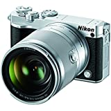 Nikon 1 J5 Mirrorless Digital Camera w/ 10-100mm Lens (Silver)