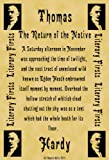Parchment Style Card Greetings Card 14cm x 10cm Thomas Hardy The Return of the Native