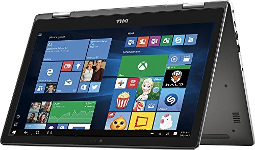 "2016 Newest Dell Inspiron 15.6"" 2-in-1 Full HD Touchscreen Convertible Laptop, Intel Core i5-6200U 2.3GHz, 8GB RAM, 256GB SSD, Backlit Keyboard, Webcam, WIFI, HDMI, Windows 10"