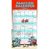 """Familienkalender 2011von """"Uli Stein"""""""