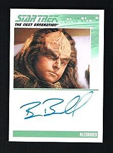 Brian Bonsall as Alexander signed autograph auto 2010 Star Trek Next Generation